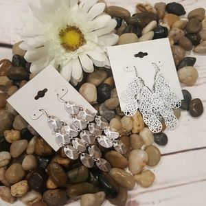 Jewelry - Dangle Earings Bundle - Two Pair NWT!
